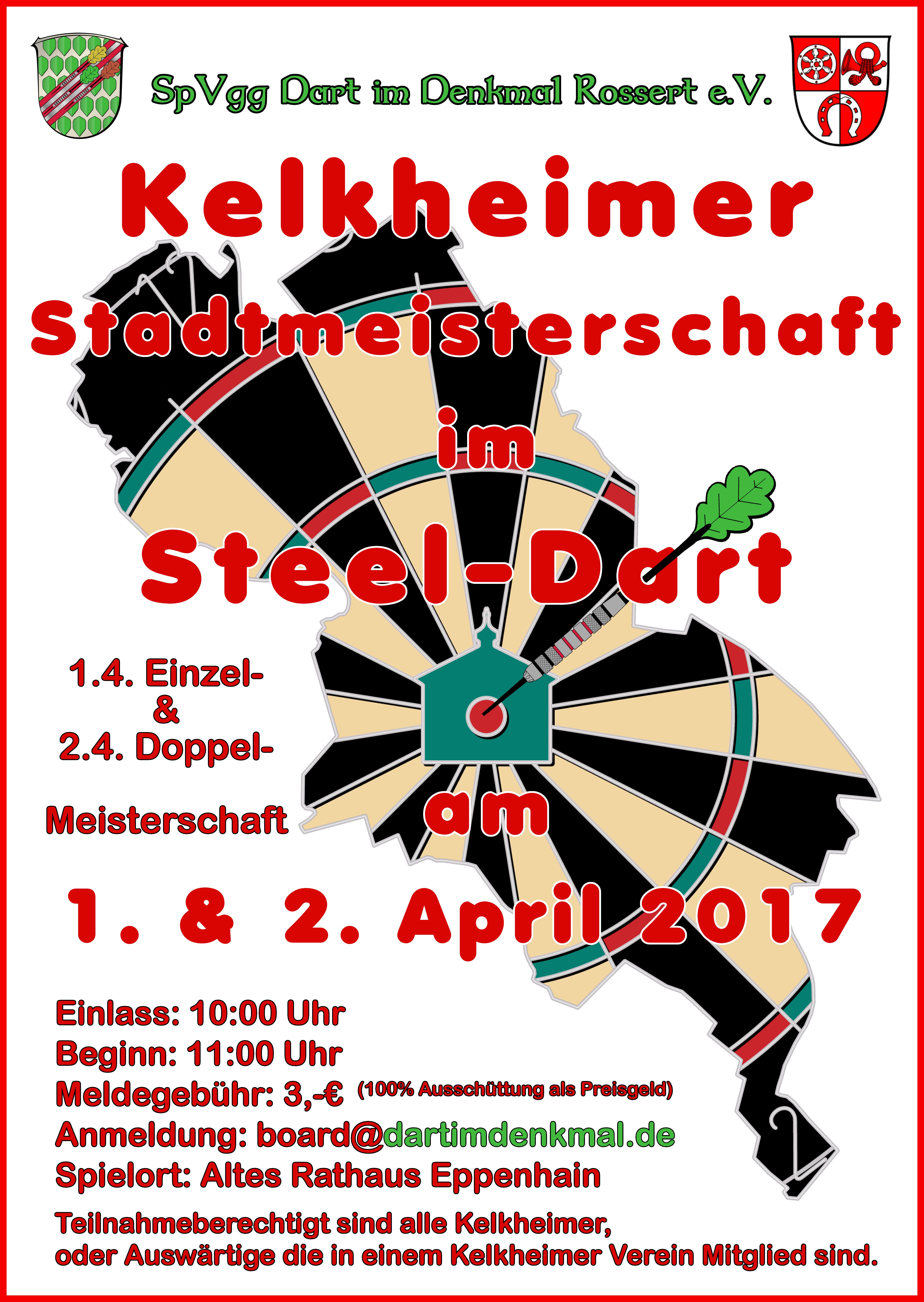 Plakat Stadtmeisterschaft 2017